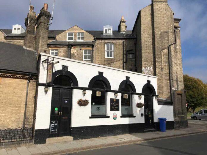 Radegund-pub Cambridge inside cambs